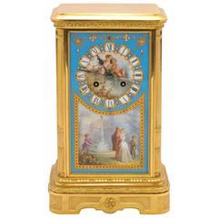 19th Century Sevres Mantel Clock