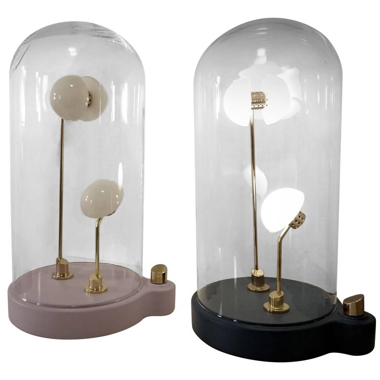 "Lightings: Pair Of Lightings, Thierry Toutin's Little Gold ""Germes De"