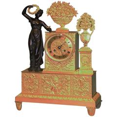 19th Century French Eight Day Striking Clock