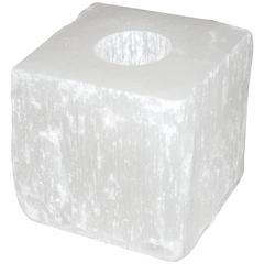 Crystal Rock Cube Candleholder