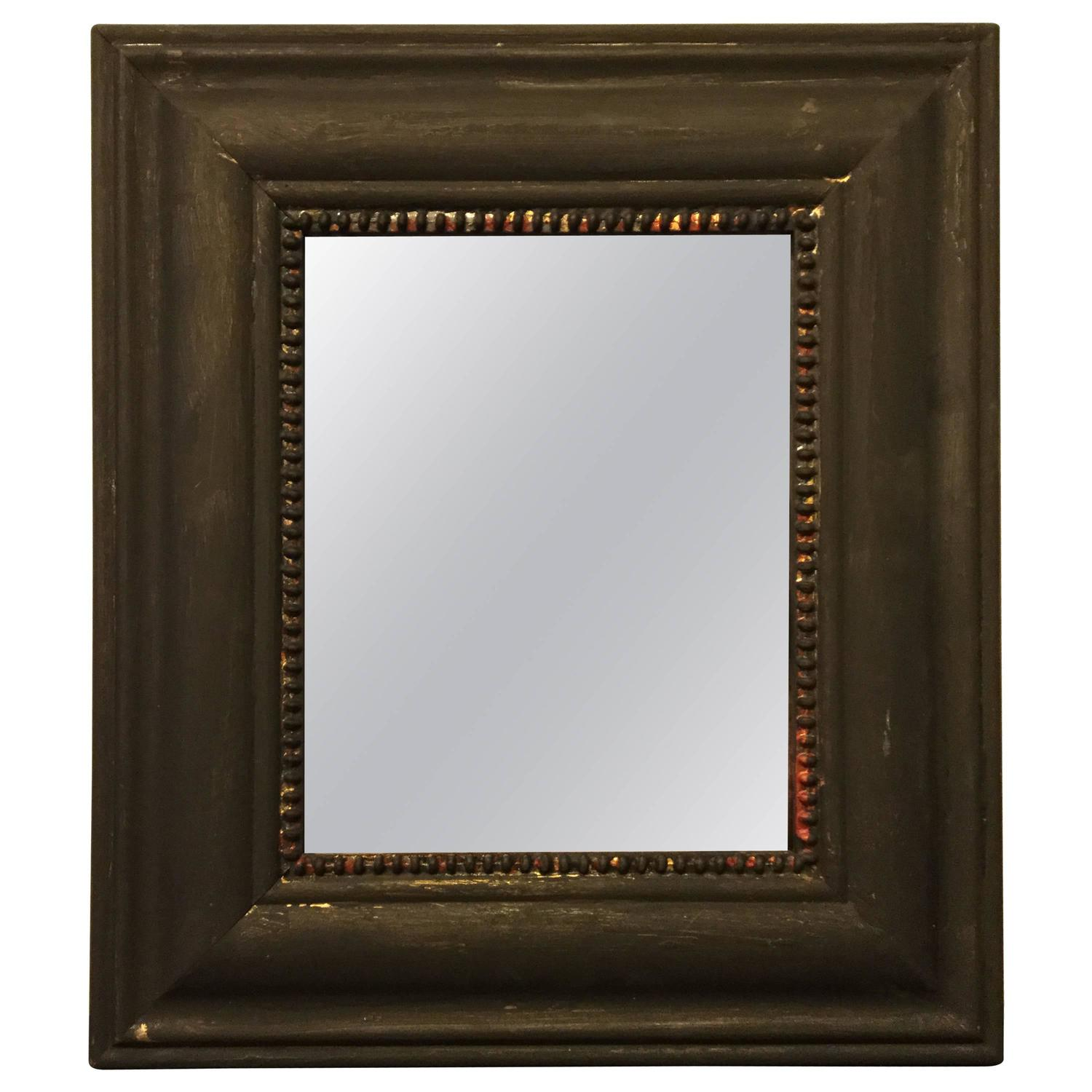 Oldi silver mirror old frame for sale at 1stdibs for Silver mirrors for sale