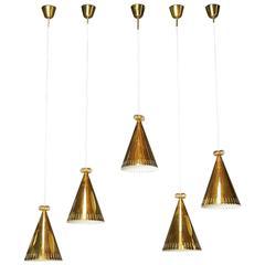 Paavo Tynell Brass Pendants