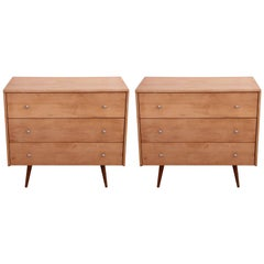 Pair of Paul McCobb Planner Group Chest of Drawers Dresser