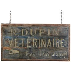 19th Century Vet Trade Sign