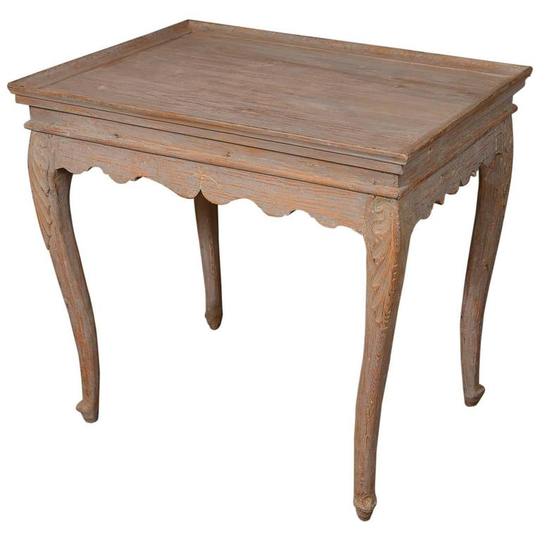 Swedish Rococo Tray Table 1