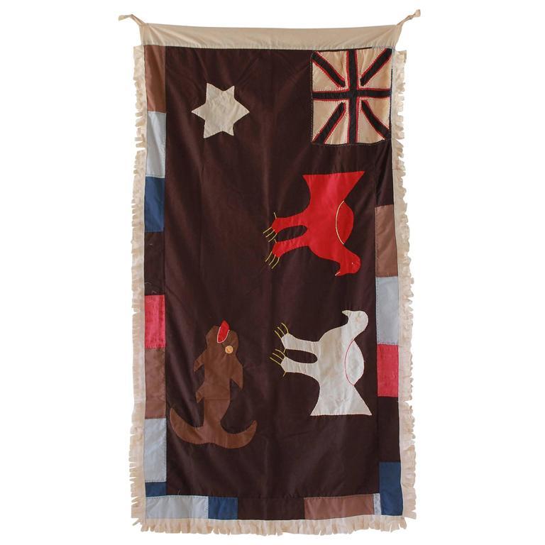 Fante Flag from Ghana For Sale