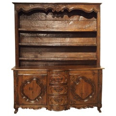 17th Century French Oak Vaisselier, Lorraine, circa 1680