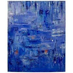 Abstract Acrylic on Canvas by Angelina Kerene Conser