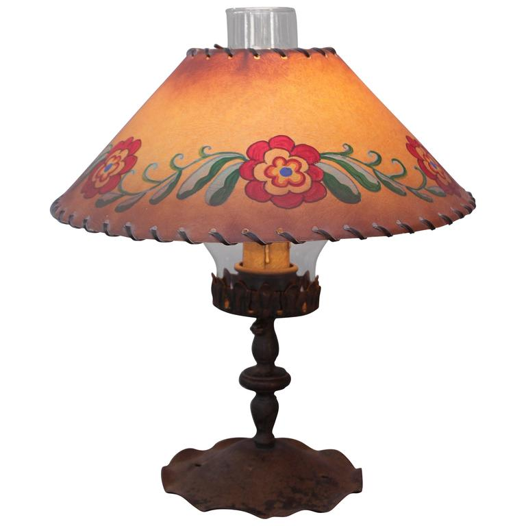 1930s Monterey Period Table Lamp At 1stdibs