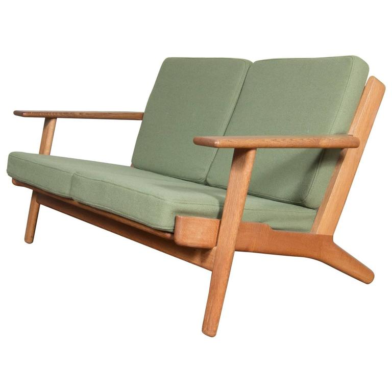 Hans Wegner Cigar Sofa Produced By GETAMA From The 1950s 1