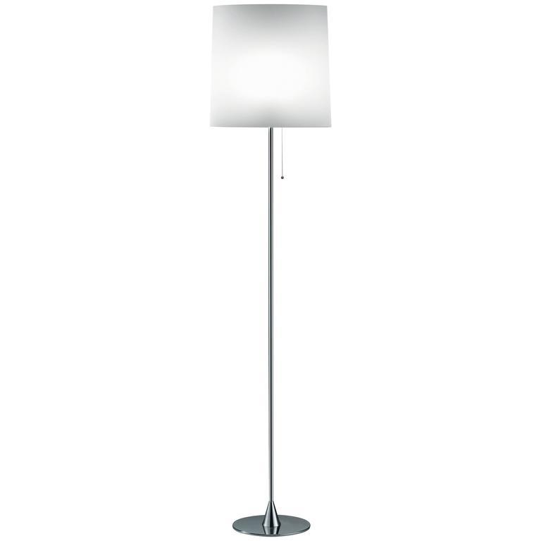 Pierluigi Cerri Fontana Arte Sara Floor Lamp Aluminum and Metal, Designed 1994