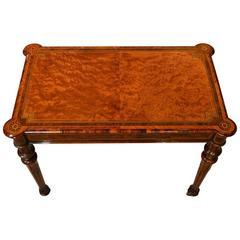 Fine Quality Thuya, Burr Walnut and Kingwood, Victorian Period