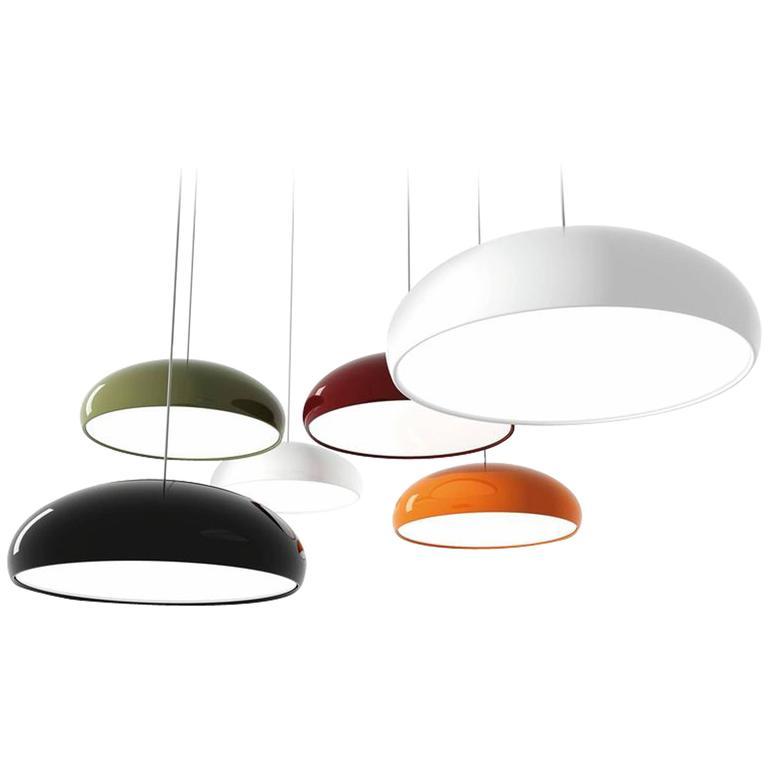 Pangen Suspension Lamp by Fontana Arte For Sale