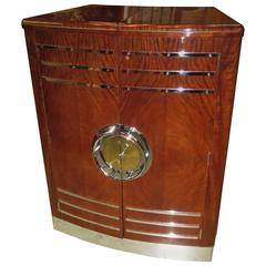 Art Deco Expanding Cocktail Cabinet and Bar