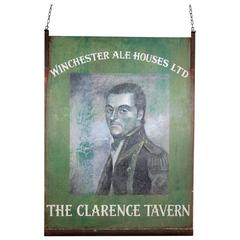 Early 20th Century Tavern Sign