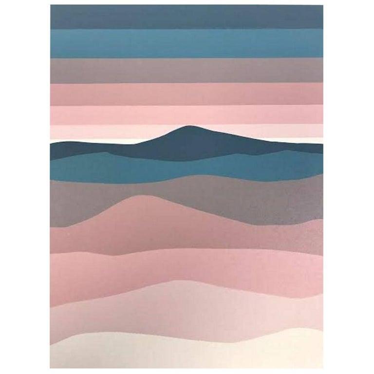 """Roy Ahlgren Silk Screen Print """"An Nafrid"""" For Sale"""