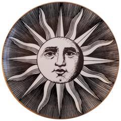 Vintage Piero Forasetti Small Soli E Lune 'Sun and Moon' Plate