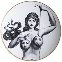 Rosenthal Fornasetti Temi E Variazioni Motiv 17 Porcelain Plate