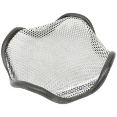 Alessi Italia by Silvio Coppola 1970s High Tech Metal Mesh Fruit Bowl