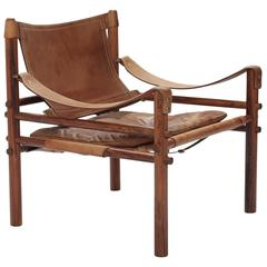 Arne Norell Rosewood Safair Sirocco Chair, Sweden, 1960s