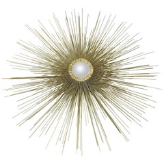 Curtis Jere Style Sunburst Wall Sculpture