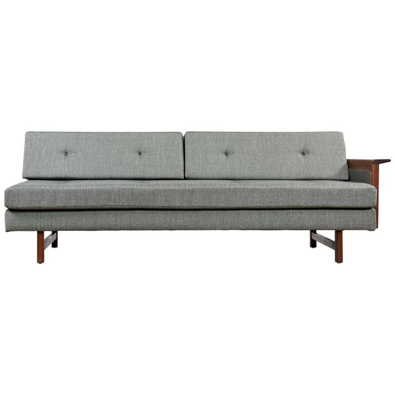 Restored One Arm Mid Century Modern Sofa At 1stdibs