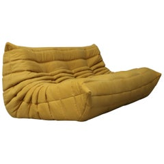 Vintage Togo Three-Seat by Michel Ducaroy for Ligne Roset Re-Upholstered