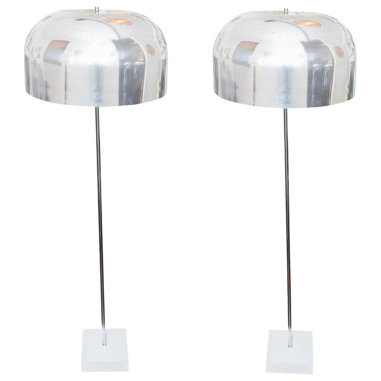 Laurel Style Mushroom Floor Lamps
