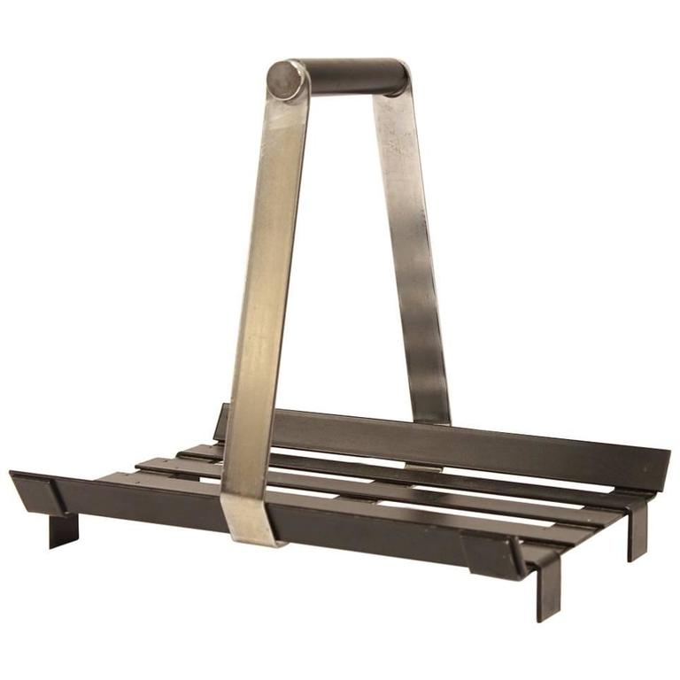 Midcentury Brass And Marble Magazine Rack For Sale At 40stdibs Fascinating Acrylic Magazine Holder For Treadmill