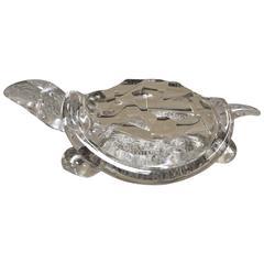 Signed Archimede Seguso Murano Turtle, 1970s