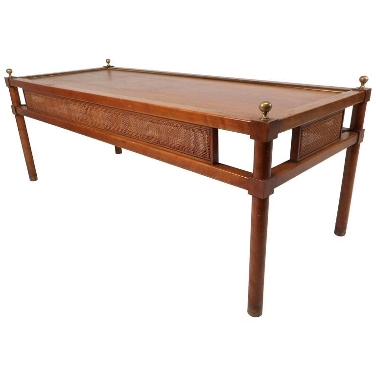 MidCentury Modern Coffee Table By Charak Furniture Company At Stdibs - Mid century modern pool table