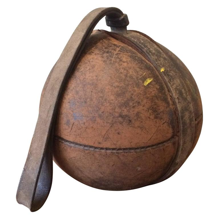 German Leather Gymnasium Medicine Ball