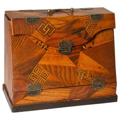 Japanese Parquetry Traveling Desk