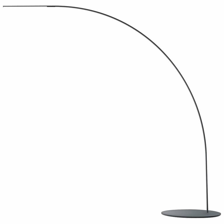 Yumi carbon fiber floor lamp by shigeru ban for fontana for Yumi led floor lamp