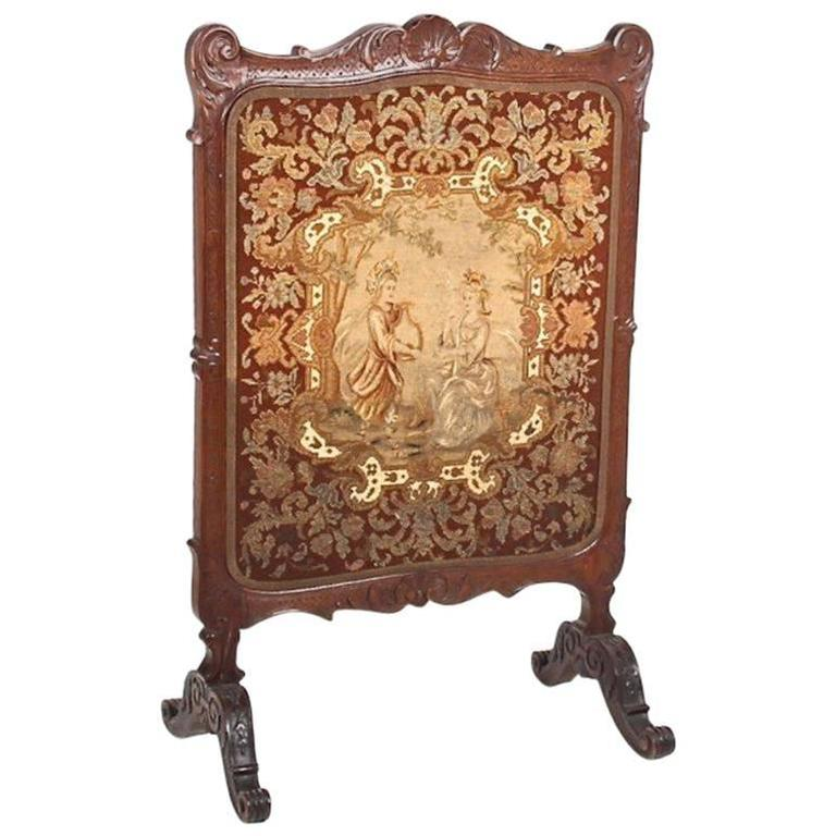 antique french summer fireplace screen circa 1900 for sale at 1stdibs. Black Bedroom Furniture Sets. Home Design Ideas