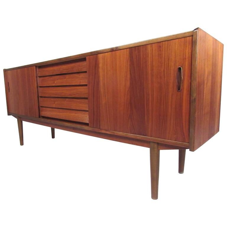 Scandinavian Teak Sideboard by Nils Jonsson for Hugo Troeds