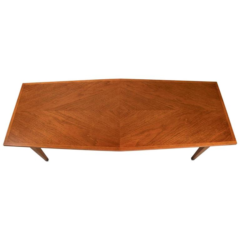 Six Sided MidCentury Coffee Table For Sale At Stdibs - Six sided table
