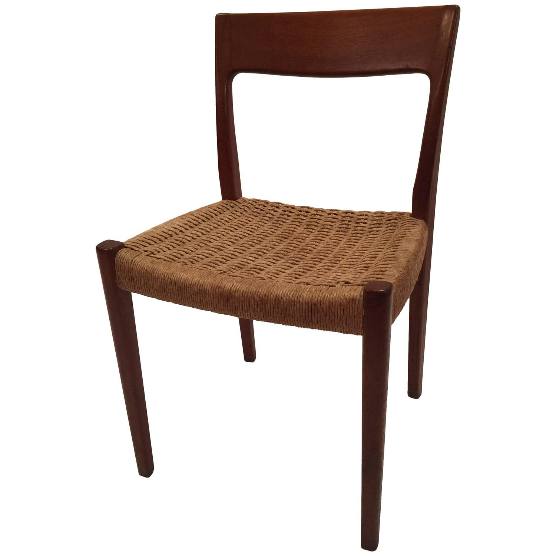 Swedish Teak Svegards Dining Chair For Sale At 1stdibs
