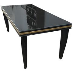 Italian Art Deco Dining Table Circa 1930