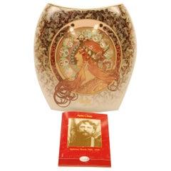 """5 Porcelain Vases by Goebel, 2004 Artis Orbis """"Zodiac Design"""" from 1896, Rare"""