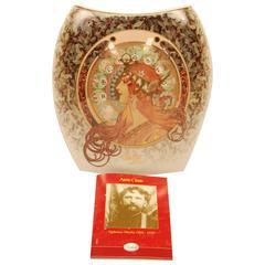 """9 Porcelain Vases by Goebel, 2004 Artis Orbis """"Zodiac Design"""" from 1896, Rare"""