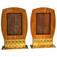 Pair of Very Rare Picture Frames from the Architect Serrurier-Bovy, 1905