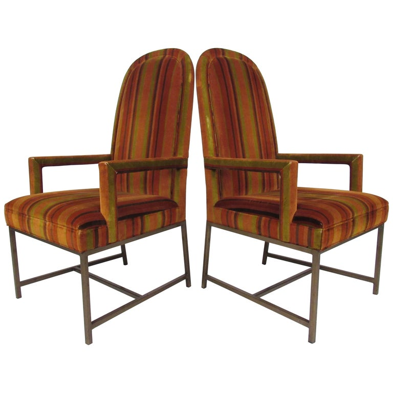 Mid-Century Modern Highback Armchairs For Sale