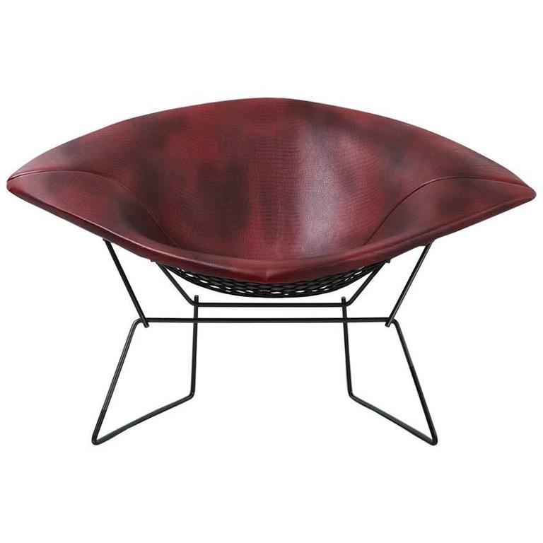 mid century modern bertoia diamond chair by knoll freshly. Black Bedroom Furniture Sets. Home Design Ideas