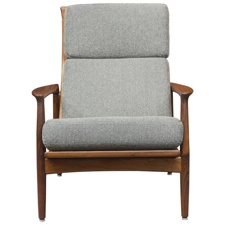 Folke Ohlsson Danish Lounge Chair For Sale