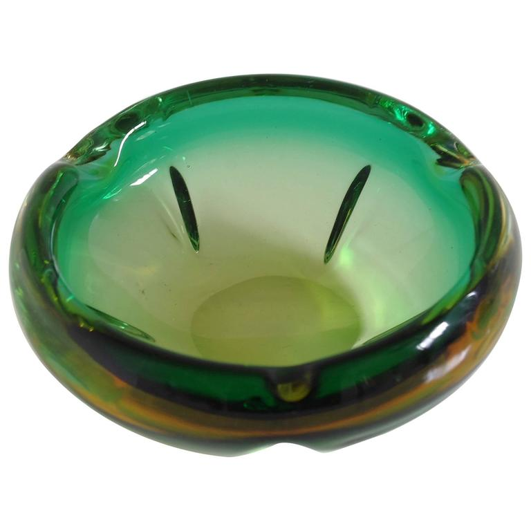 Italian Murano Glass Ashtray or Bowl