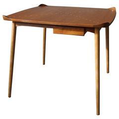 Exquisite Game Table Model FJ55 by Finn Juhl, 1948