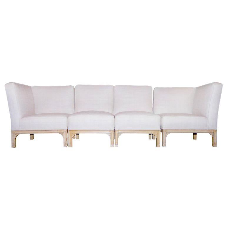 "Paul Frankl ""Skyscraper"" Sectional Sofa For Sale"
