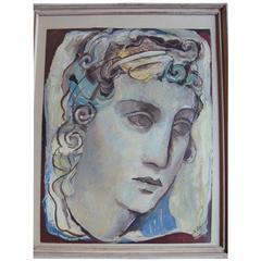 Portrait of a Woman, circa 1930, by Maria Lagorio