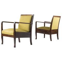 Swedish Art Deco Lounge Chairs